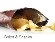 薯片和零食
