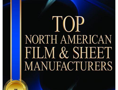 Jindal Films Americas, LLC Named Top North American Film & Sheet Manufacturer
