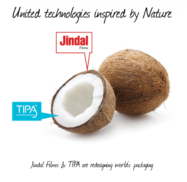 TIPA and Jindal Films Europe announce collaboration at