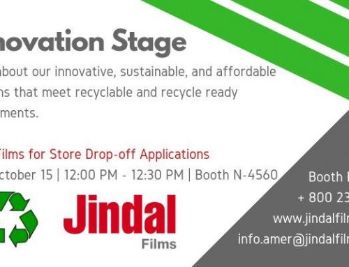 Jindal Films' PackExpo Innovation Stage Presentation Features Recyclable and Recycle Ready Sustainable Solutions